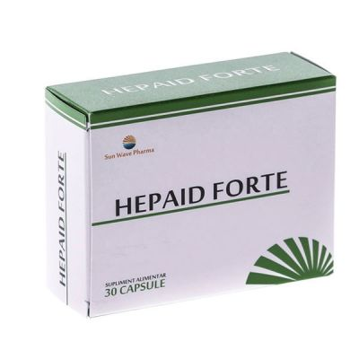 Hepaid Forte - hepatoprotector natural pt adulti, 30 cps