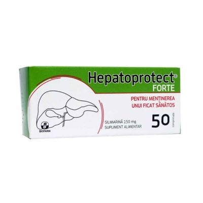 Hepatoprotect Forte, 50 cpr